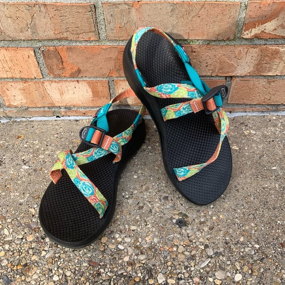 Chaco Shoes | Custom Chaco Z Sandals With Succulent Straps | Poshmark